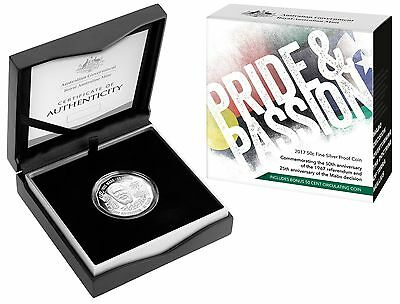 2017 50c Pride And Passion Mabo/1967 Referendum Fine Silver Proof Coin