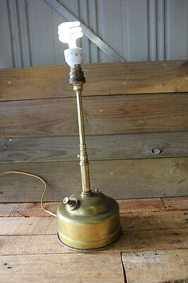 Old Antique Rare Pork Pie Tilley Table Lamp Vintage Kerosene Pressure Lantern