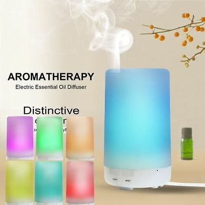 Ultrasonic Humidifier Essential LED Oil Aroma Diffuser Aromatherapy Air Purifier