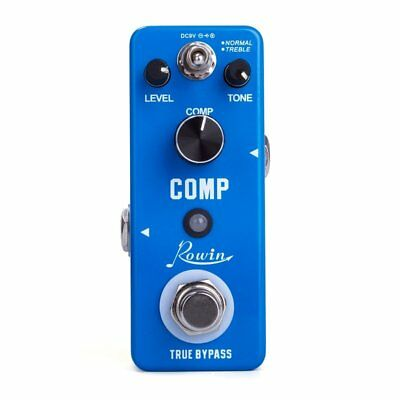 Guitar Comp Dynamic Compressor  Effects Pedal True Bypass for Bass High Quality