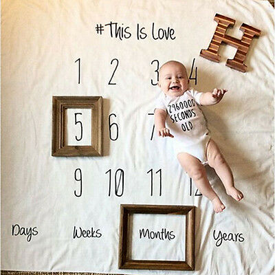 Cotton Blanket Newborn Baby Soft Photography Photo Props Infant Backdrop