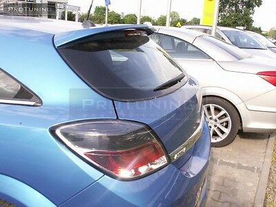 OPEL VAUXHALL ASTRA H 3d HATCHBACK GTC OPC STYLE TAILGATE ROOF SPOILER OPC2 2 II