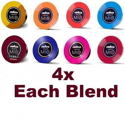 LAVAZZA A MODO MIO Coffee Capsules Variety Pack - 4x Each Blend. Shipping Includ