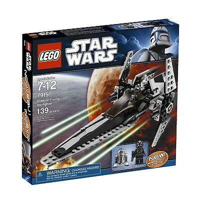 LEGO Star Wars 7915 Imperial V-wing Starfighter. 100. Free Delivery