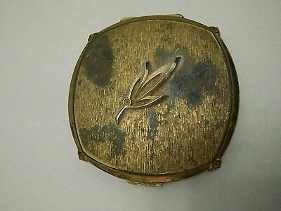 Art Deco Vintage Gold Stratton Powder Compact