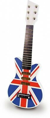 Vilac Union Jack Rock and Roll Guitar. Shipping is Free