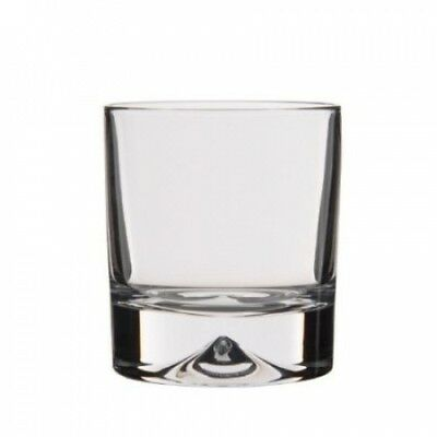 Dartington Crystal Dimple Double Old Fashioned Tumbler (Pair). Shipping is Free