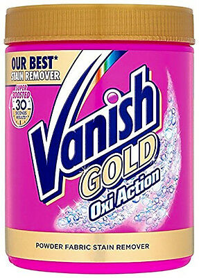 Vanish Gold Oxi Action Powder Fabric Stain Remover - 940 g NEW