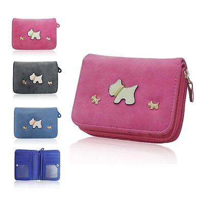 New Oilcloth Patterned Small Coin Purse Printed Zip Women Retro Wallet