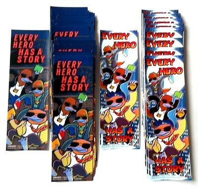 "Lot-67-EVERY HERO Paper Bookmark Gift Stationery School Office Supply 7"" X 2 1/4"
