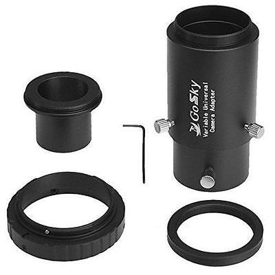 Gosky Deluxe Telescope Camera Adapter Kit for Nikon SLR Prime Focus and...