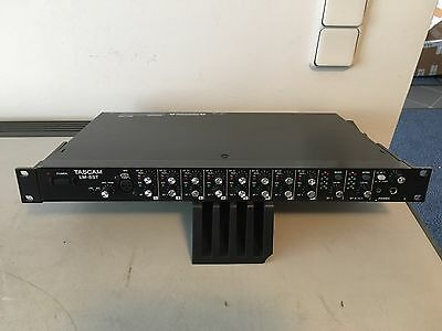 Tascam LM-8ST Mixer Mischpult RACK MIXER Submixer works perfectly