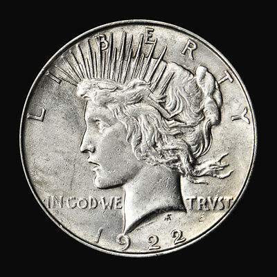 Random Year Peace Dollar VG Silver Coin