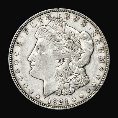 1921 Morgan Dollar VG Silver Coin
