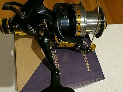 2xBrand new GS9000 size bait feeder fishing reel $100 free shipping bait runner