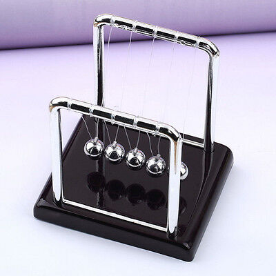 Hot Newton's Cradle Steel Balance Swing Ball Physics Science Office Decor