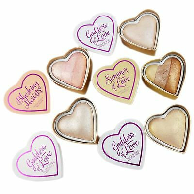 Makeup Revolution I Love Hearts Blusher Bronzer Highlighter 10g - freie Farbwahl