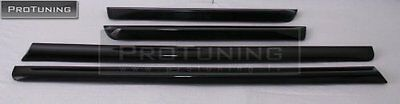 AUDI A4 B7 8E 04-08 DOOR SIDE TRIM MOULDING S4 RS4 Spoiler s line lower Covers