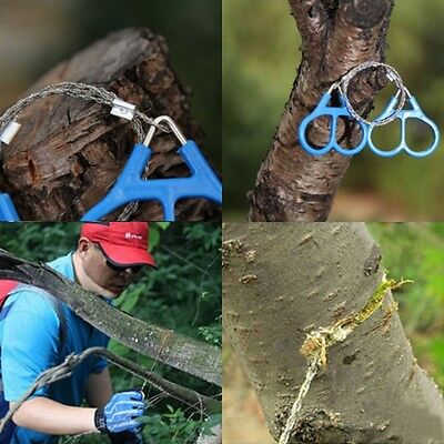 Stainless Steel Scroll Wire Saw Outdoor Emergency Survival Tools Hiking Camp Kit