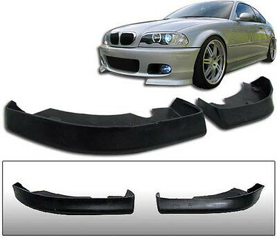 BMW E46 Clubsport Front Bumper Lip Spoiler Splitter M Sport Tech Mpack club