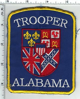 Alabama State Trooper Shoulder Patch - uniform take-off from the 1980's