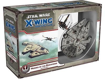 Star Wars X-Wing: Heroes of the Resistance Expansion Pack (EN)