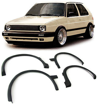 VW GOLF II MK2 WIDE WING WHEEL ARCH SET MOULDING TRIM ARCHES GTI GTD 2 fender mk