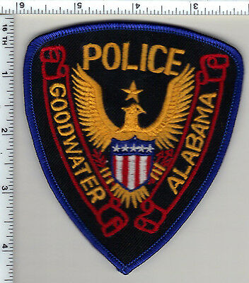 Goodwater Police (Alabama) Shoulder Patch - New from 1989