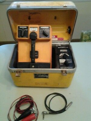 3M Dynatel 573AP CABLE LOCATOR w NewTest Leads, Warranty & Manual