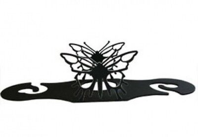 Village Wrought Iron WRC-38 Butterfly Wine Caddy. Shipping Included