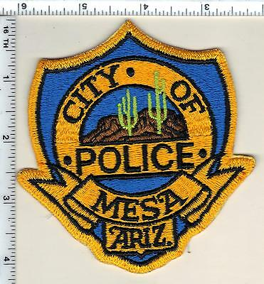 City of Mesa Police (Arizona) Shoulder Patch - new from 1989