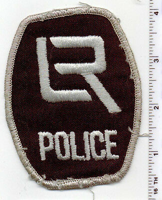Little Rock Police (Arkansas) Shoulder Patch - Uniform TakeOff from early 1980's
