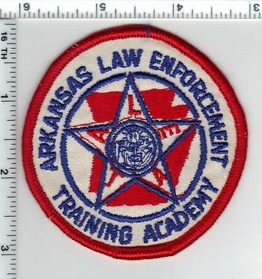 Arkansas Law Envorcement Training Academy Shoulder Patch - new from the 1980's