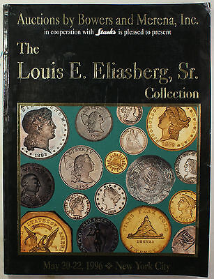 May '96 Louis E. Eliasberg Sr. Collection Auction Catalog Bowers & Merena (EW)