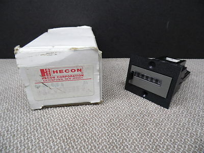 Hecon Hengstler 400   G0-404-565-4 Electronic Digital Counter 24 VDC - NEW
