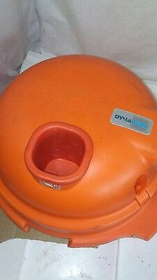 """Used Dynamic Dynacube Vegetable Cutter Model DC3 Size 10x10/ 3/8""""-Red"""