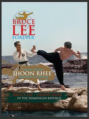 Pre Order Bruce Lee Forever Poster Magazine 'Jhoon Rhee Special Edition' Novembe