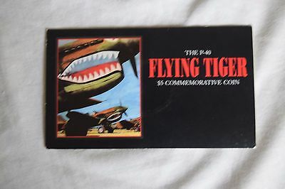 1991 Marshall Islands P-40 Flying Tiger $5 Commemorative Coin