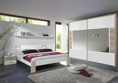 Qmax 'Town' Range. Integrated LED Lighting. German Made Bedroom Furniture.