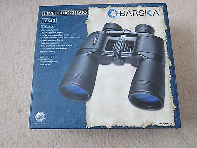 Brand NEW Barska 16X50mm level binoculars AB12236 W/Case&Strap lifetime warranty