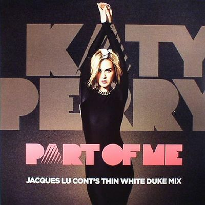 "PERRY, Katy - Part Of Me (remixes) - Vinyl (pink vinyl 12"")"