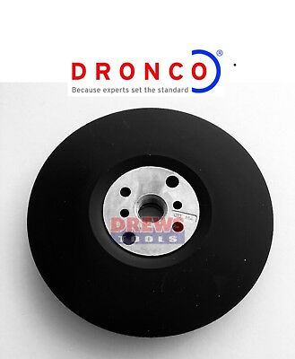 """Dronco Sanding 115mm Backing Pad 4.5""""  M14 suitable for Angle Grinder"""