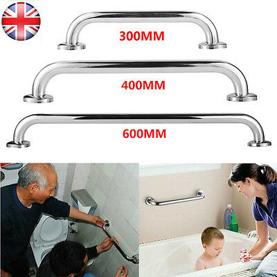 Stainless Steel Bathr Shower Disability Aid Support Handle Grab Bar Safety Rail