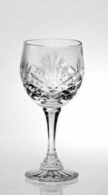 Crystal Port / Sherry Glasses - Set of 6 - Majestic. Zawiercie. Shipping is Free