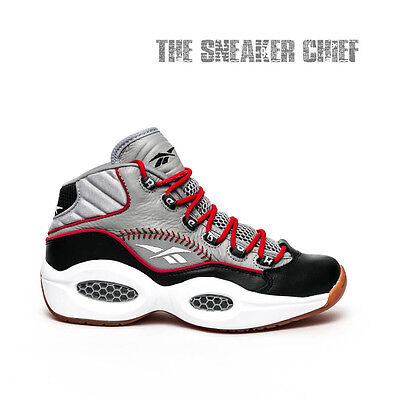 Reebok Question Mid Practice Men S Iverson Basketball Shoes Size 7 5 V67904