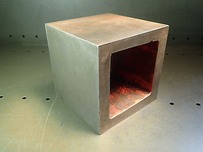 """6"""" (Nominal) Machinist Parallel Steel Square Set Up Riser Block, Used Good Cond"""