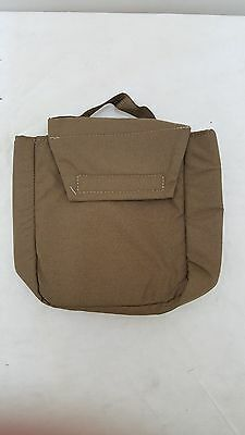Coyote Brown Padded Accessory Pouch-NEW