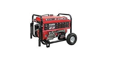 King Canada KCG-8500GE 8500W Gasoline Generator with Electric Start and Wheel Ki