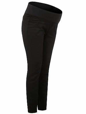 New Ladies NewLook Maternity Black Under Bump Jeggings Pregnancy Trouser Sz 8-18