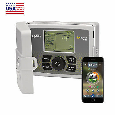 Orbit Irrigation Products 57946 Smart Watering Timer, 6 Stations, Wi-Fi Enabled